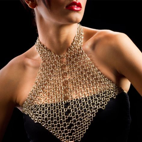 Jam Design Chain Maille Necklace