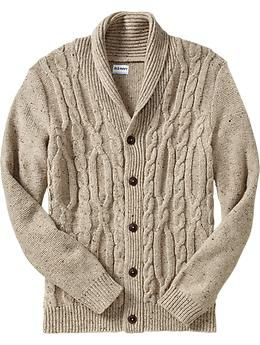 Old Navy Mens Cable-Knit Cardigans