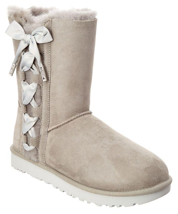 UGG Ugg Women's Pala Corset Bow Short Boot. #ugg #shoes #