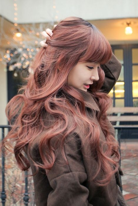 Gorgeous hair color. So unique but not out there.