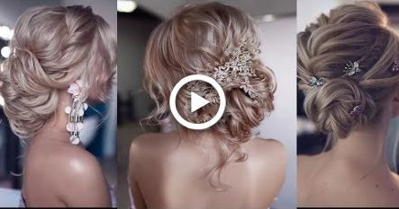 Easy Updo Hairstyles For Medium Hair Tutorial  –  Nice Hairstyles For Girls #hai…