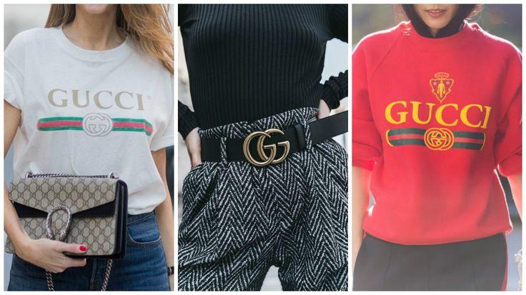 A Gucci trouxe de volta suas icônicas logomarcas em bolsas, calçados e roupas, inclusive o detalhe vermelho e verde que remete à bandeira italiana. Post completo sobre a volta das logomarcas no blog. #logomarcas #logos #gucci #moda #estilo #tendencias #trends #fashion #style #fashionismo