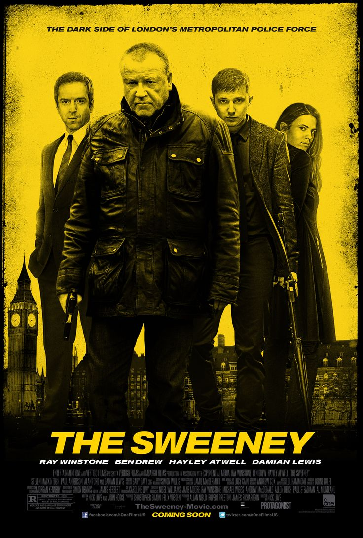 """Five Favorite Films with Ray Winstone - Rotten Tomatoes; to see Ray Winstone's five favorite films, click on the poster of """"The Sweeney"""""""