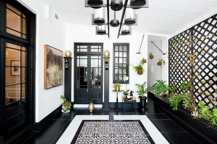 House Malherbe-Lan - Black&White Interiors