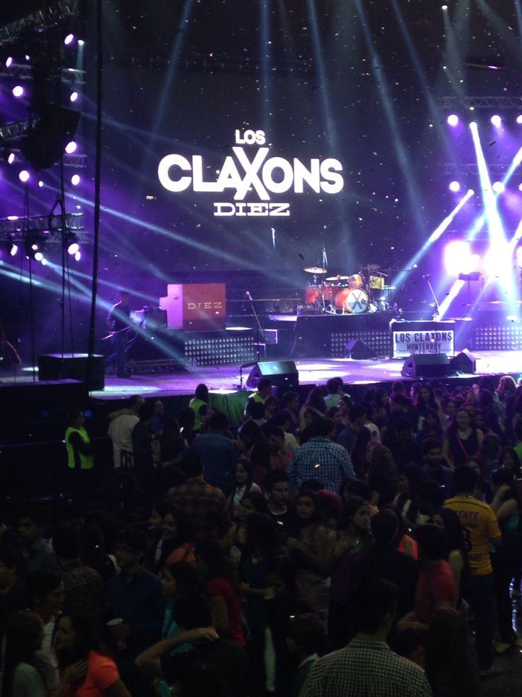 #LosClaxons10 #ArenaMonterrey ¡increíble! I❤️claxons