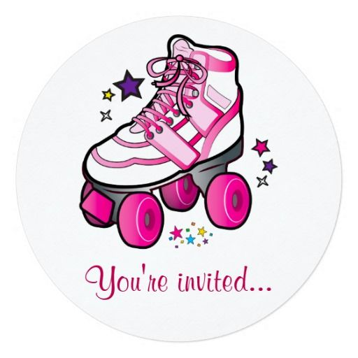 336 best Roller Skating birthday theme images – Roller Skating Party Invitation Wording