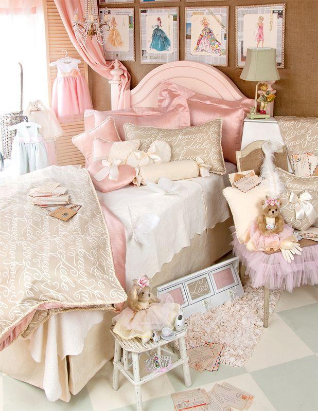 .. ZGlenna Jeans, Little Girls, Girls Beds, Daughters Room, A Little Princesses, Girls Room, Beds Decor, Beds Sets, Love Letters