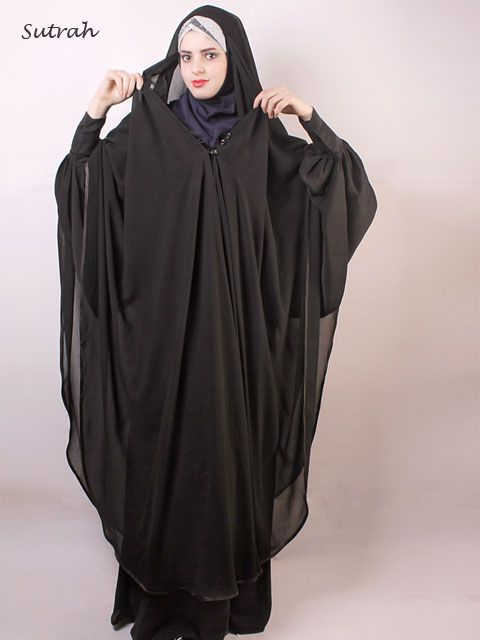 Opened Chiffon Khimar | Abaya & Islamic Clothing | Islamic Boutique