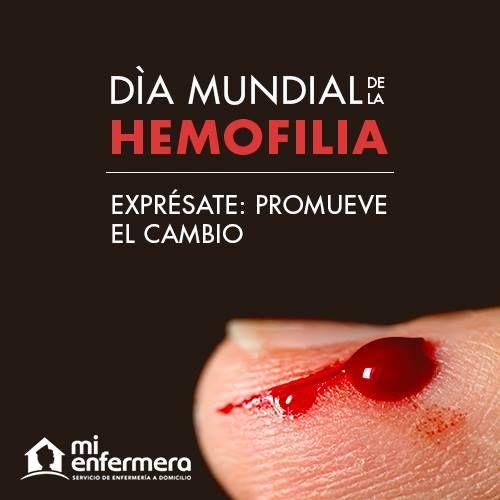 Día mundial de la Hemofilia 17 de abril