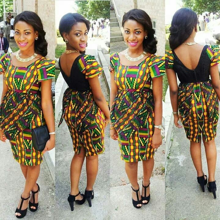 Fro African Print Bridesmaids Dresses – Fashion design images