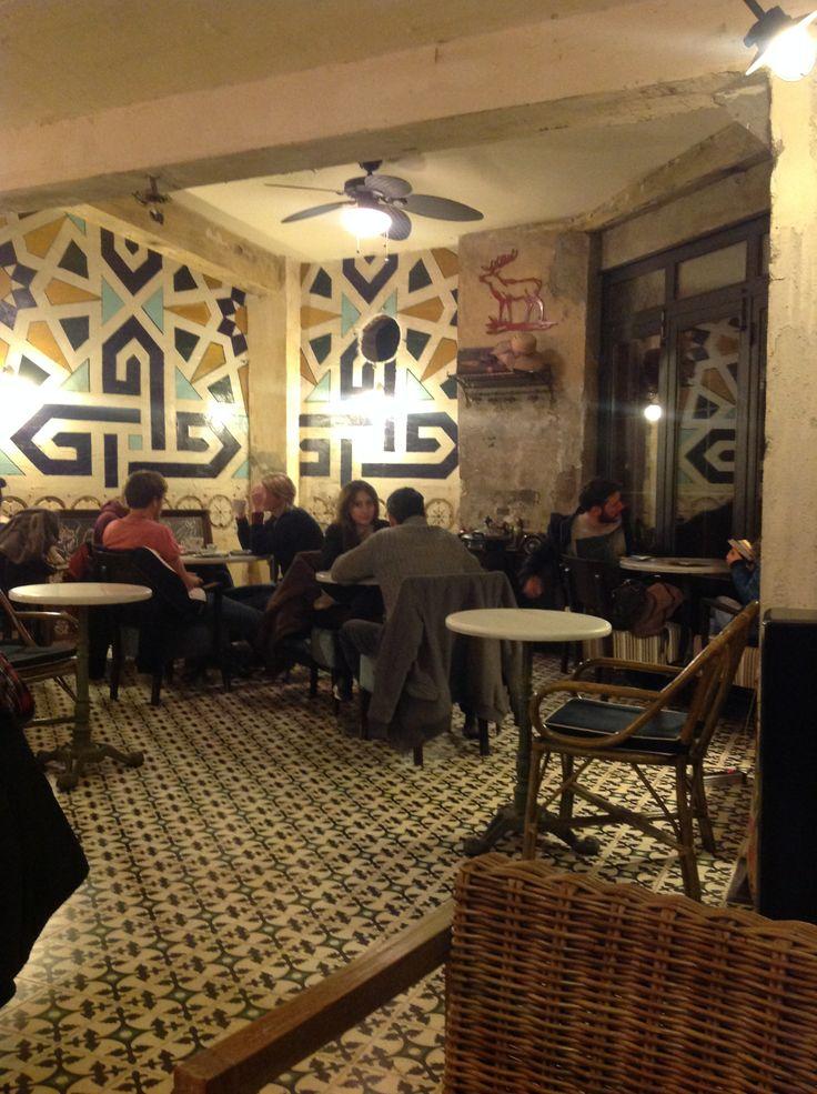 Karakoy café - Istanbul