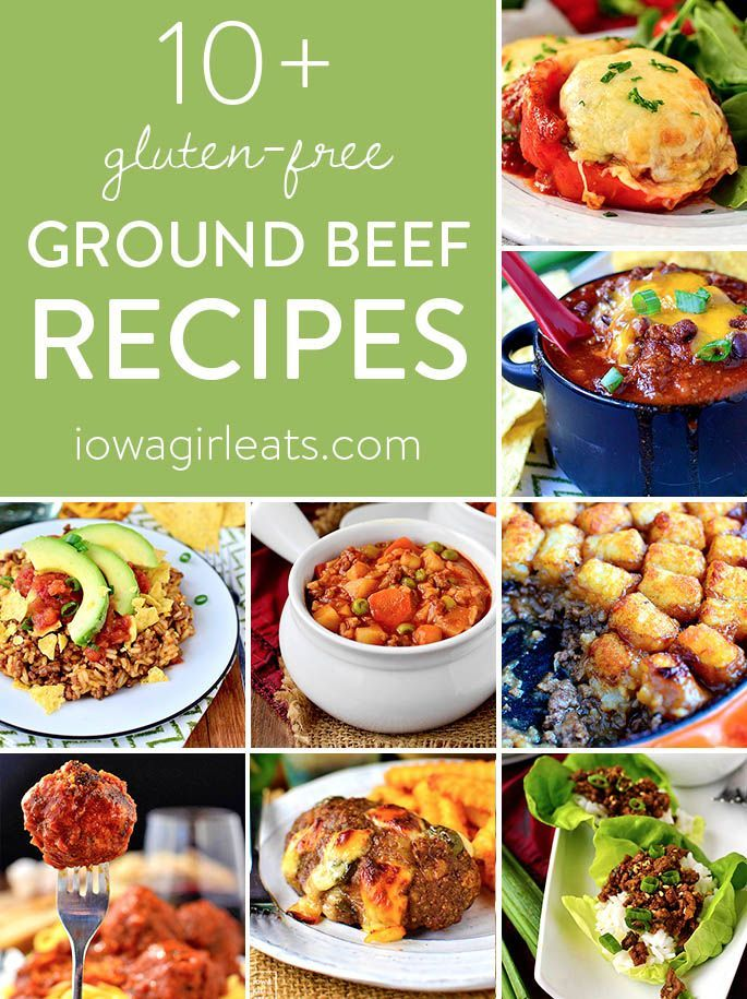 10 Gluten Free Ground Beef Recipes Beef Recipes Ground Beef Recipes Ground Beef Pasta