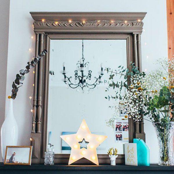 1000 id es sur le th me miroir chemin e sur pinterest d coration de chemin e d corations de. Black Bedroom Furniture Sets. Home Design Ideas