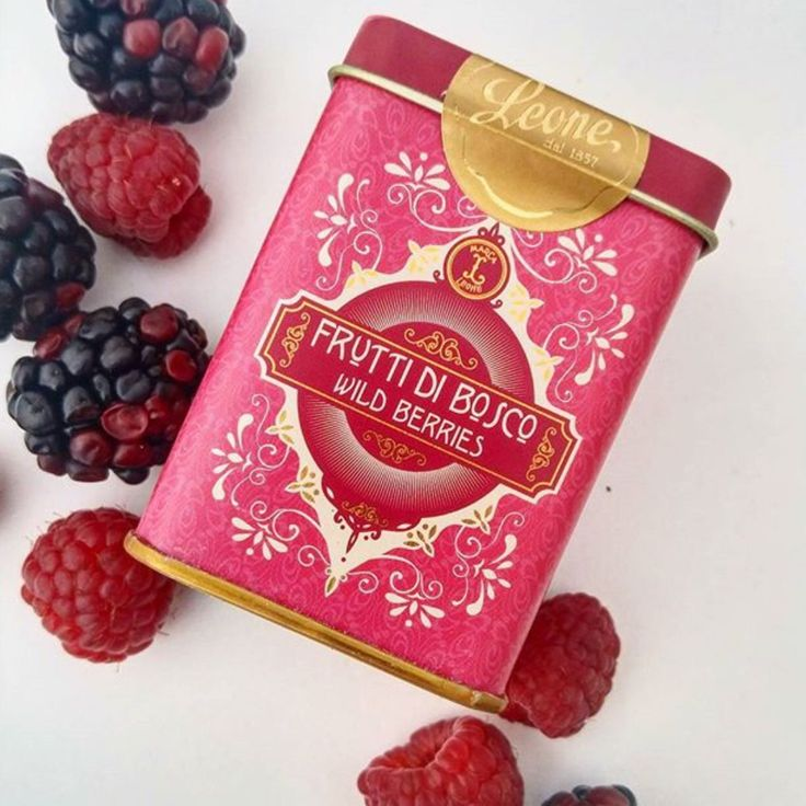 Wild berries candyoriginals. Pastiglie Leone.