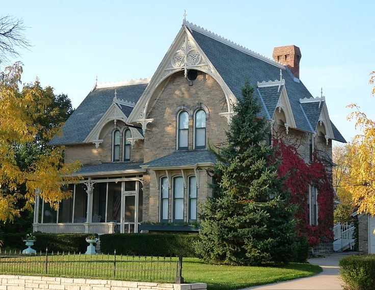 The David Mcmillan House In Stevens Point Wisconsin Is A