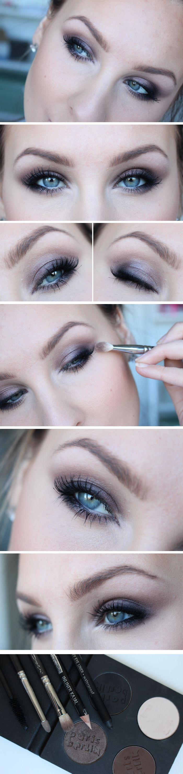 Dagens ögonmakeup & tips – ParisBerlin Shimmery smokey eyes | Helen Torsgården – Hiilens sminkblogg