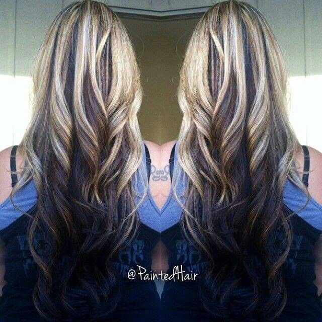 latest hair style for girls 25 best ideas about highlights underneath hair on 7277 | 57a3ae52ded004fda9261ac5897a7277 amazing hairstyles long hairstyles
