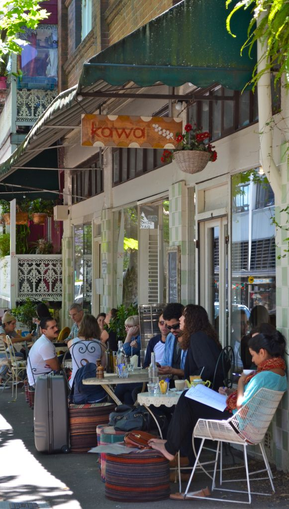 Kawa Café for coffee and brunch. Crown Street is a very cool location