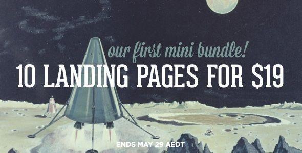 Our First Mini Bundle - The Landing Page Bundle