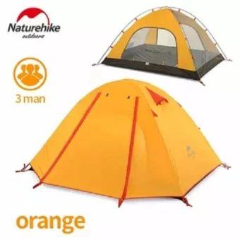 เก็บเงินปลายทาง  Naturehike aluminum pole tent outdoor 3 people Double layerWaterproof wind stopper camping tent set - intl  ราคาเพียง  2,772 บาท  เท่านั้น คุณสมบัติ มีดังนี้ Applicable number: 1-2 people External tent waterproof: PU coating waterproof 3000mm Inner tent material: 210T ripstop polyester cloth Bottom sheet material: 150D anti-tear Oxford cloth Inner rod material: 7001 aviation aluminum alloy pole Size: 210 * 135 * 110cm Weight: 2.1kg Accessories: aluminum spike 10-12 root…
