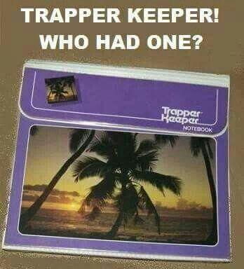 80's... Trapper Keeper