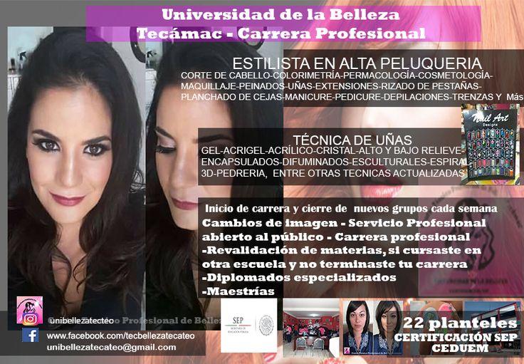 Escuela  de belleza Tecámac y Teotihuacán 5