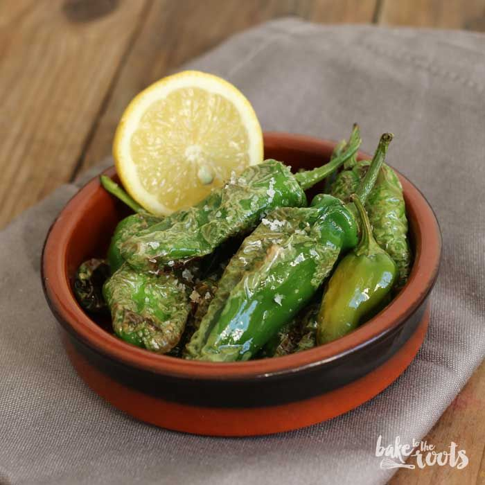 Pimientos de Padrón Padrón peppers are a specific green variety of peppers found in northwestern Spain and are simply fried in Spanish olive oil and served with salt. Somehow smokey, not spicy at all, salty and deeply satisfying