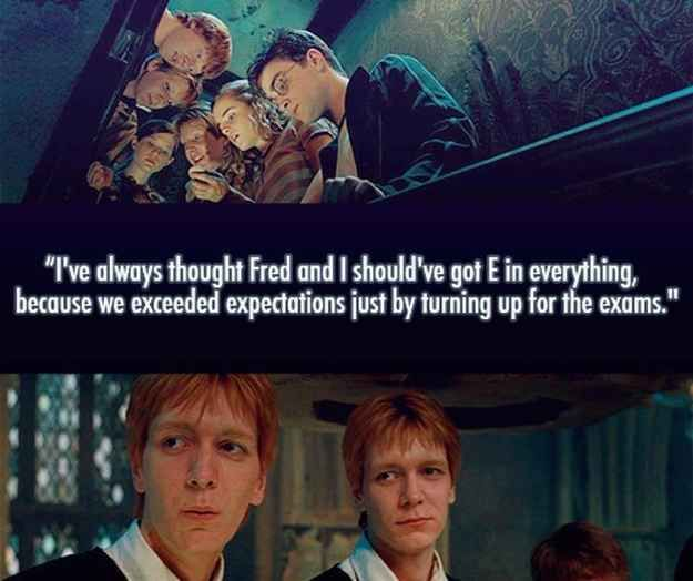 And they always had a positive outlook on their future. | 28 Reasons Fred And George Are The Best Characters In The Harry Potter Series