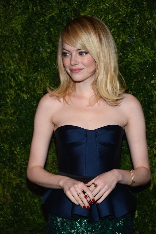 Эмма Стоун на благотворительном вечере CFDA и Vogue   Эмма ...