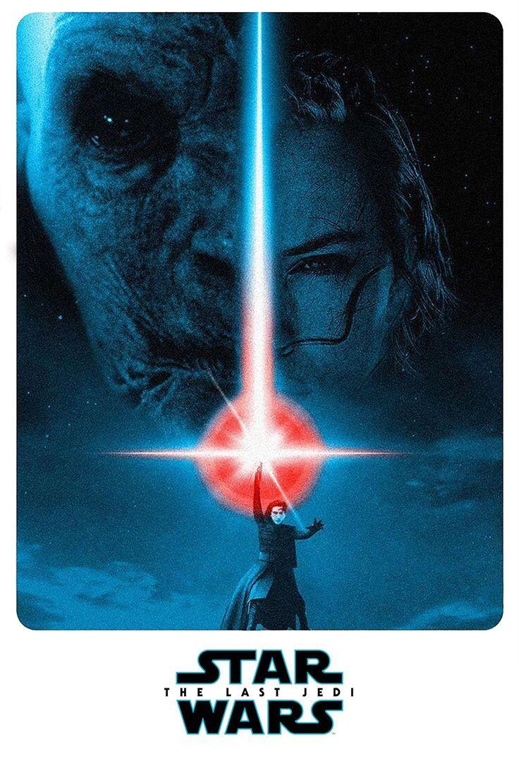 Alternate version of The Last Jedi poster (artwork by Troy Millhoupt) http://ift.tt/2pXqALG #timBeta