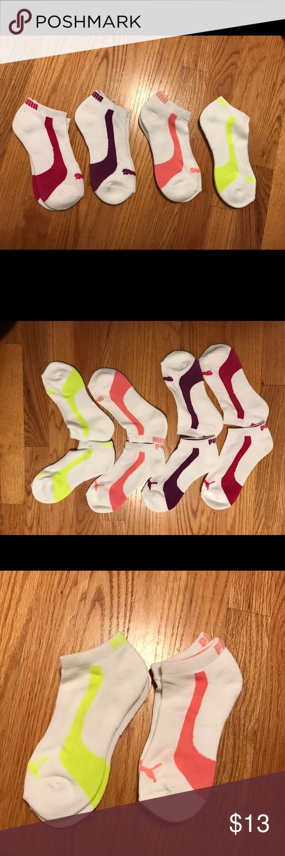 Brand new Womens Puma athletic ankle high socks Brand new Womens Puma athletic ankle high socks with choices of 4 colors!! Buy 2 for 13!!! Other