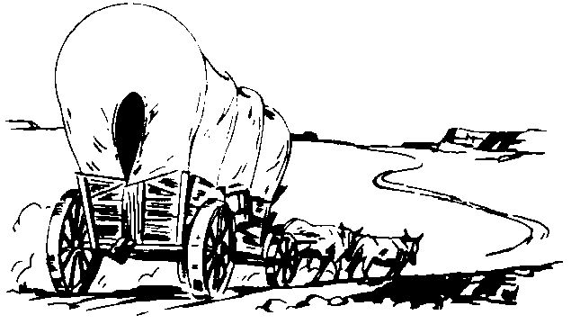 coloring pages of oregon trail - photo#28