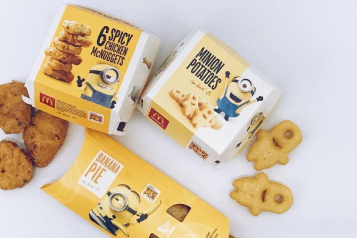 McDonald's unveils Minions-themed menu, and nope, nope, nope, nope, nope