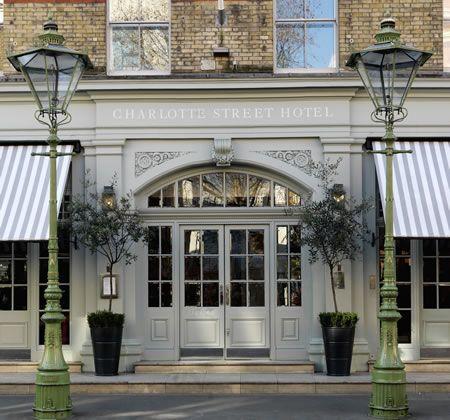 Charlotte Street Hotel 15-17 Charlotte Street London W1T 1RJ T: +44 20 7806 2000 F: +44 20 7806 2002 E: charlotte@firmdale.com