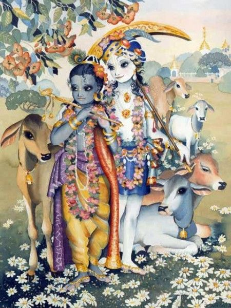 Beautiful Lord Shyamsundara Painting