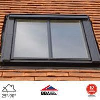 VELUX GGL CK04 SD5P1 Conservation Window for 15mm Tiles - 55cm x 98cm