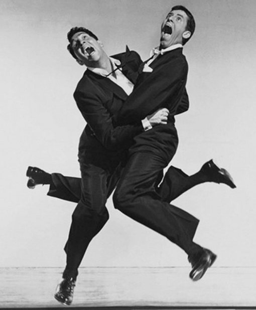 Dean Martin and Jerry Lewis... Funny guys :)