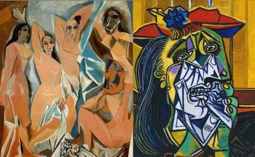 Set of x11 Picasso Paintings