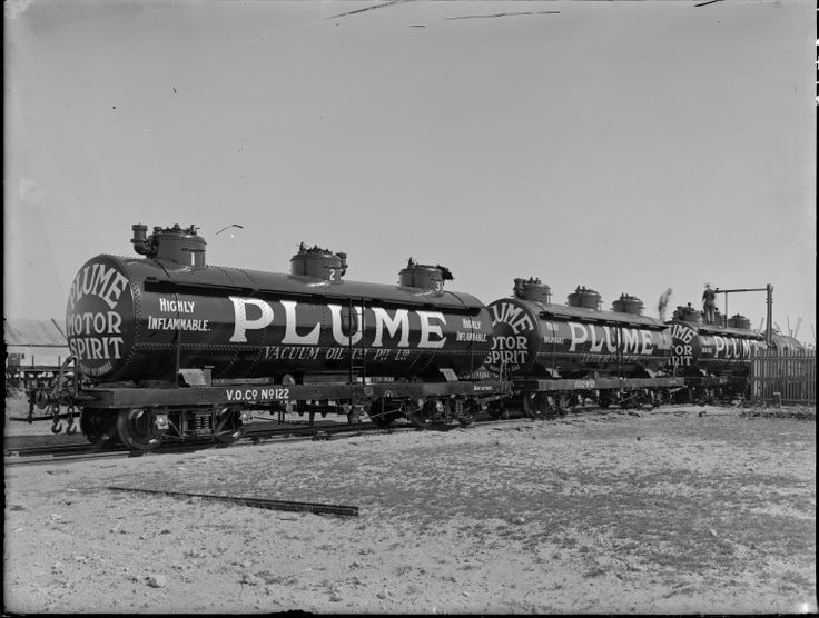 100831PD: Plume Motor Spirit railway petrol tankers, 1929 http://encore.slwa.wa.gov.au/iii/encore/record/C__Rb3473457?lang=eng