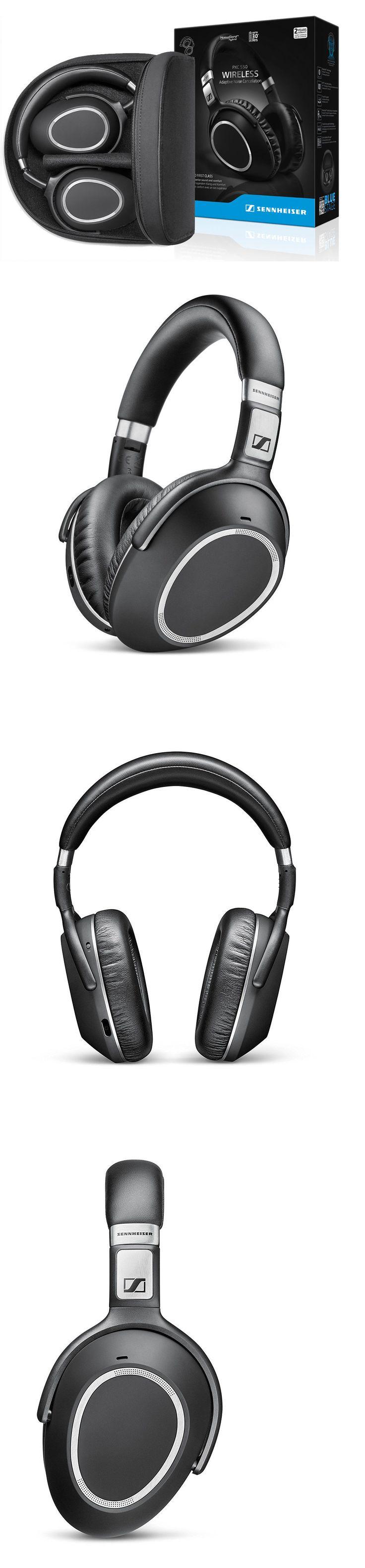 Headphones: Sennheiser Pxc 550 Bluetooth Wireless Noise Cancelling Headphone Headset W Case -> BUY IT NOW ONLY: $279 on eBay!