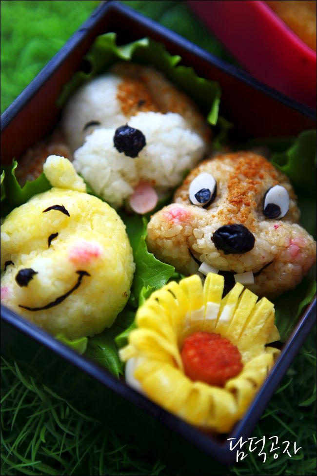 Pooh Bear Kyaraben Bento Lunch