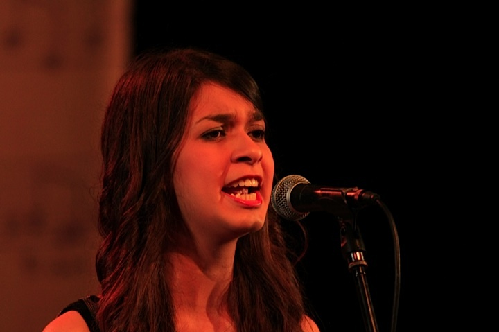 Abre la gala Clarens Moabe Sánchez del Tolima. Crédito Milton Ramírez (@FOTOMILTON) MinCultura 2012.