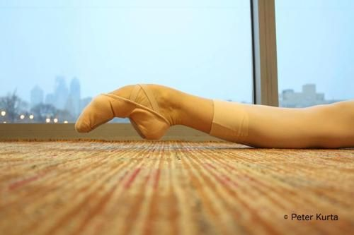 Ballet: A study in making pain look effortless - ok that's a bit disturbing