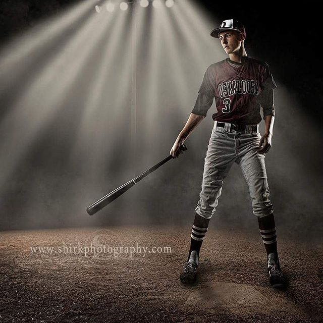 A cool senior image we created of Seth stepping up to the plate.  #baseball #senior #shirkphotography