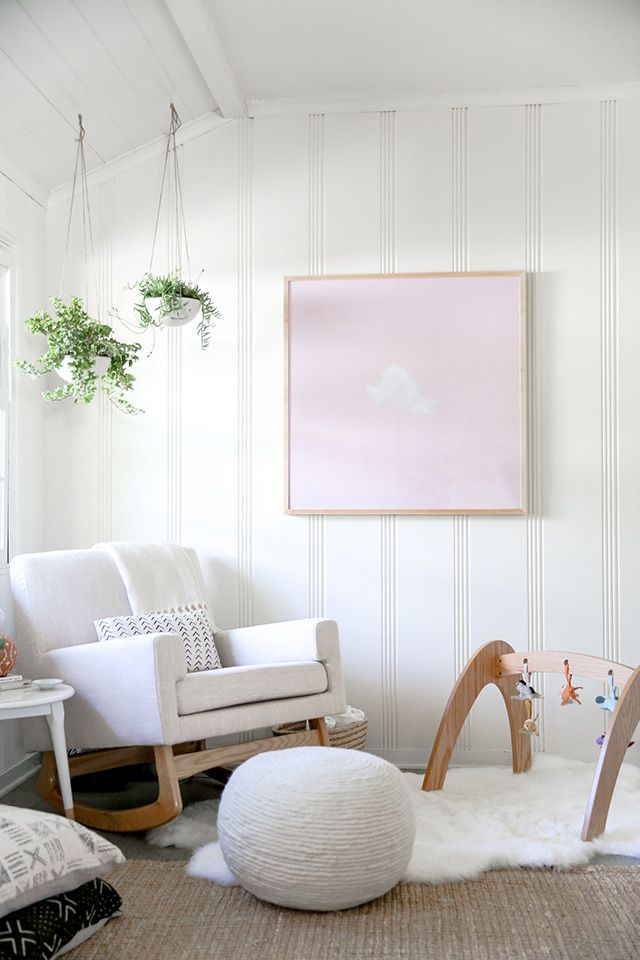 Sarah Sherman Samuelmaster Bedroom Nursery Nook Makeover