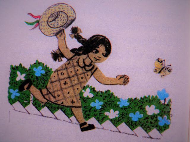 """M  o   m   e   n   t   s   b   o   o   k   .   c   o   m: Η Άννα κυνηγά πεταλούδες... Εικόνα απ' το """"αλφαβητ..."""