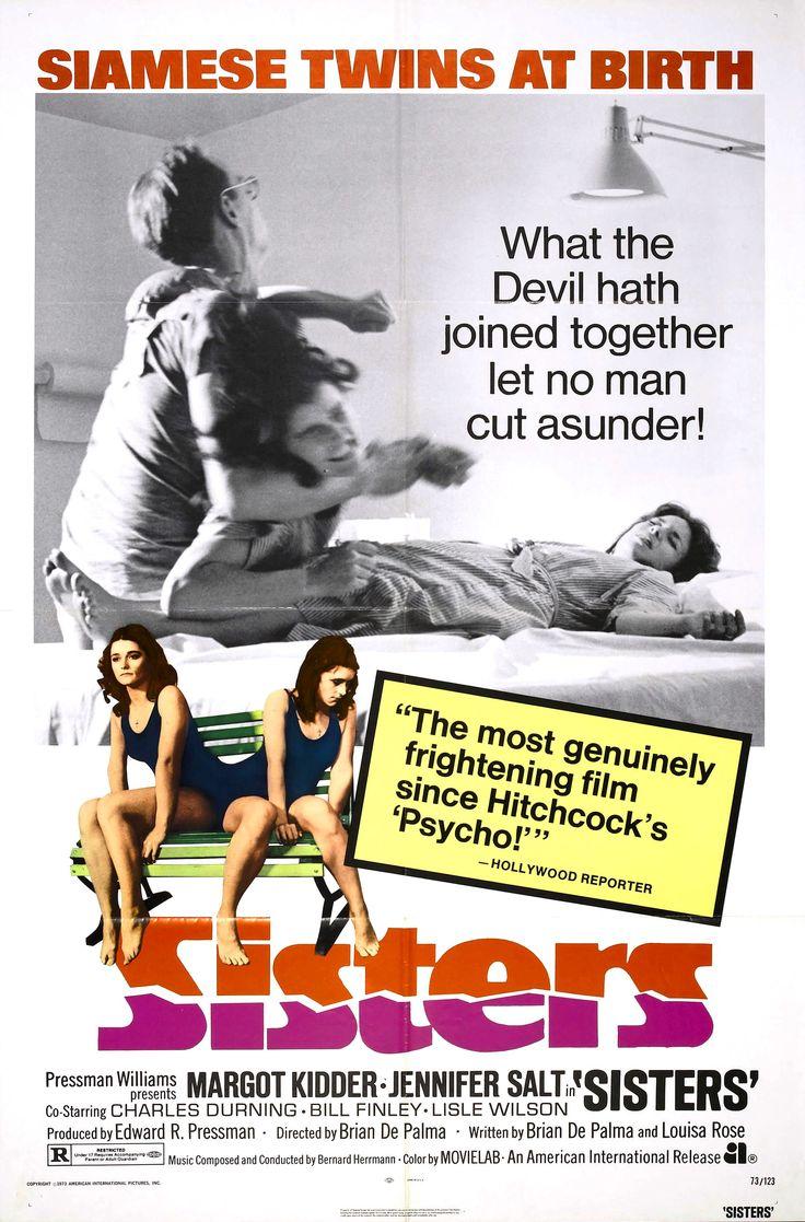 """Sisters"" (1973) Country: United States. Director: Brian De Palma. Cast: Margot Kidder, Jennifer Salt"