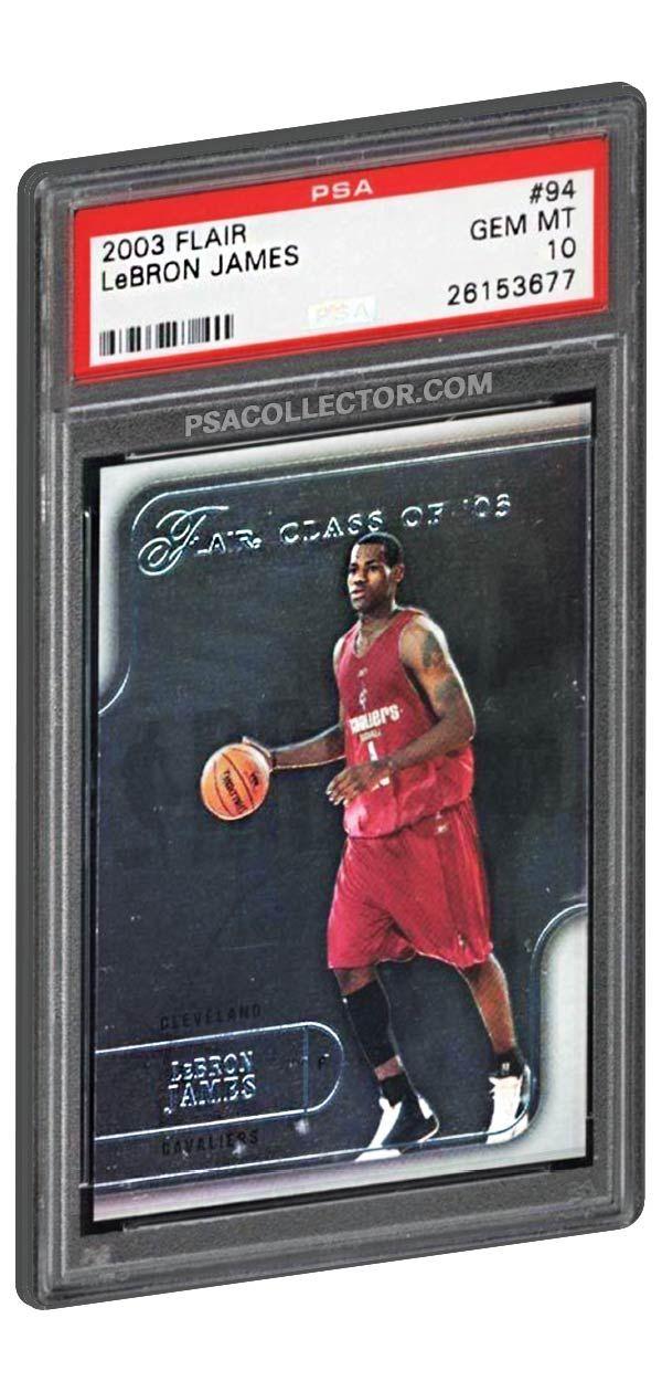 2003 Flair Lebron James Rookie Card 94 Lebronjames