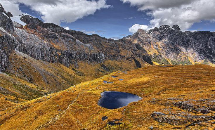 Lagoon callejon de conchucos Cordillera Blanca peru by juan gabaldon on 500px
