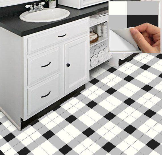 Tile Decals Stickers For Kitchen Backsplash Floor Bath Removable